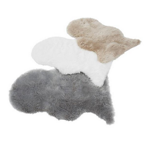 Tapis style peau de mouton FUR - 4 Couleurs