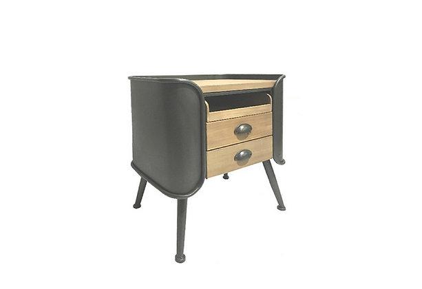 Table de chevet luxe bois de pin - Collection MAESTRO