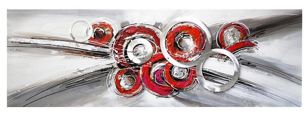 Toile Design Abstrait peinte à la main - Collection GALLERY