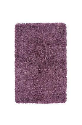 Tapis de salon poils longs FLOOD Violet
