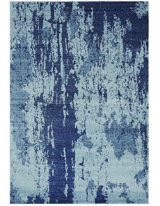 Tapis de salon design AVON Bleu