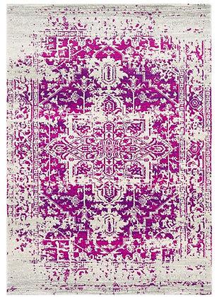 Tapis de salon design AVON Violet NV08