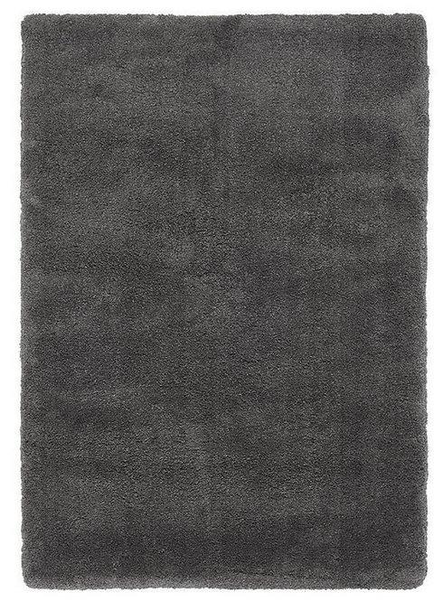 Tapis de Salon Design Polyester Uni TITO Noir