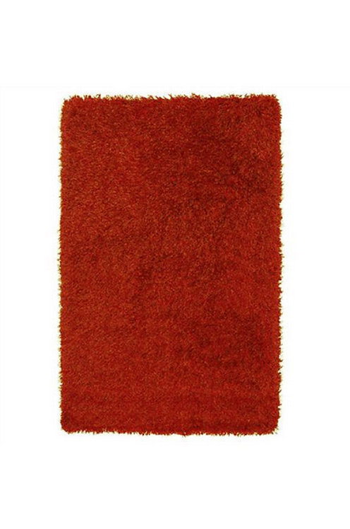 Tapis de salon poils longs FLOOD Paprika