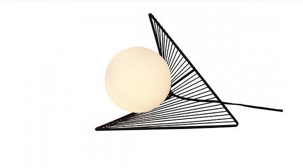 Lampe Métal Effet d'optique sphère verre - Collection HOME DESIGN