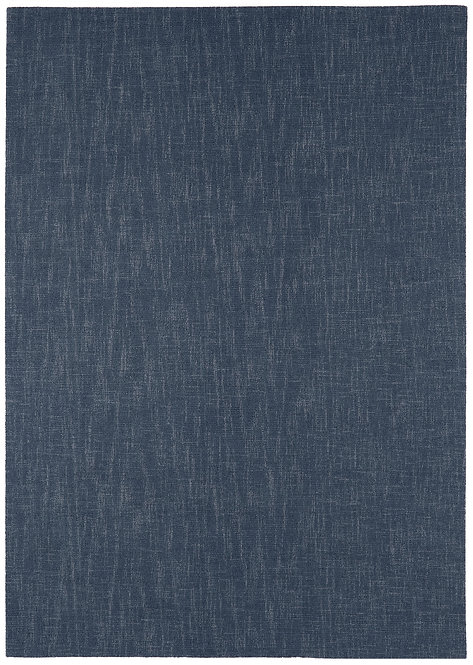 Tapis salon Laine SCOTTISH Bleu