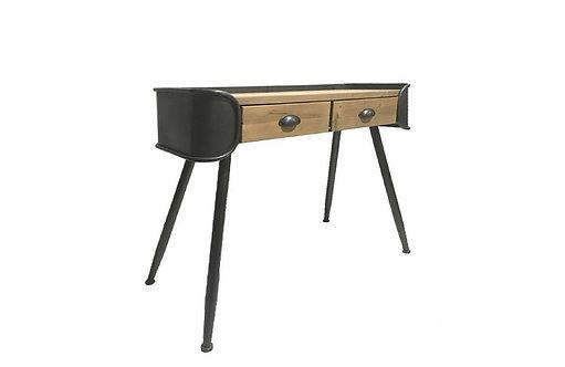 Bureau luxe 2 tiroirs Bois de pin - Collection MAESTRO