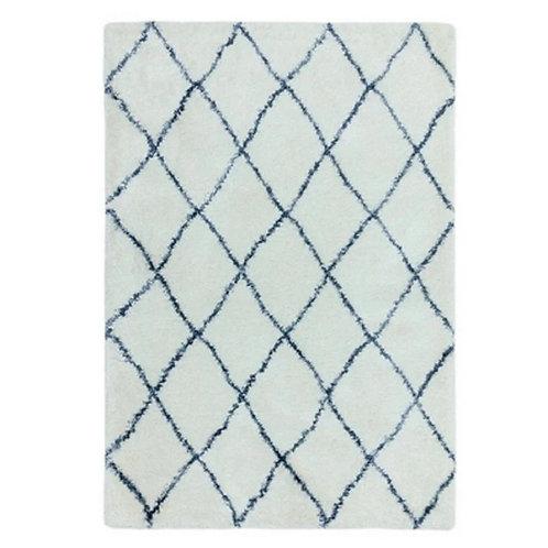 Tapis moderne style berbère BLUE DIAMOND