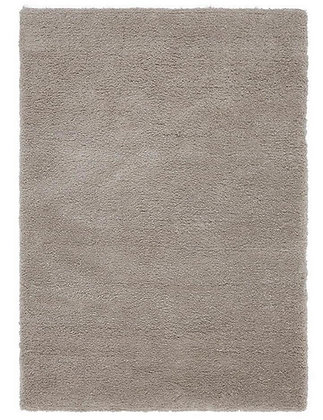 Tapis de Salon Design Polyester Uni TITO Mocha