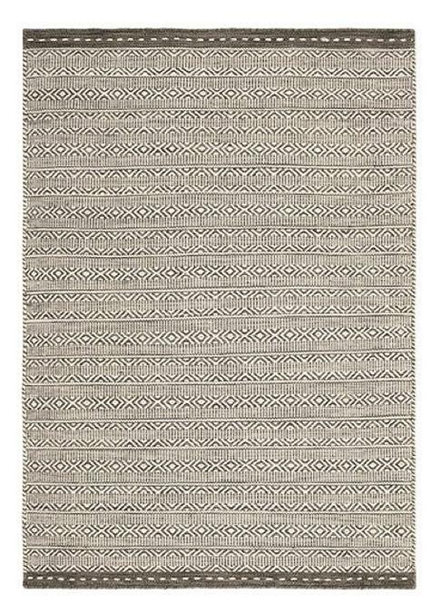 Tapis de Salon Design Réversible Uni FORTE Taupe