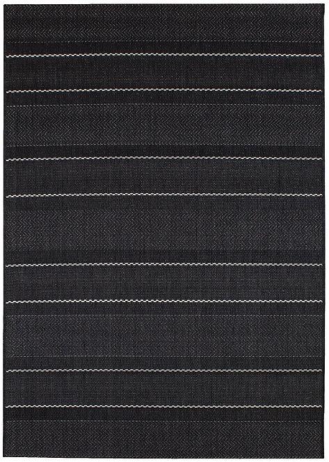 Tapis Intérieur Extérieur LOBBY Charcoal Stripes