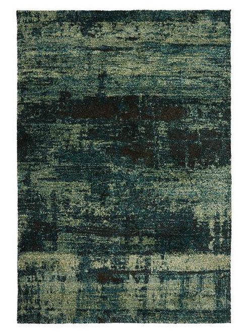 Tapis de salon moderne IVY Bleu Lagon 06