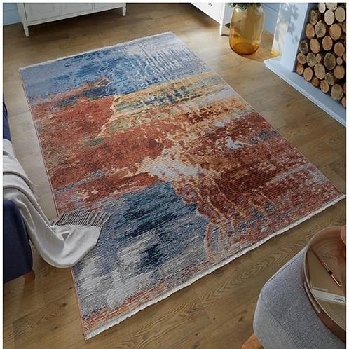 Tapis de salon moderne tissé plat WEKO