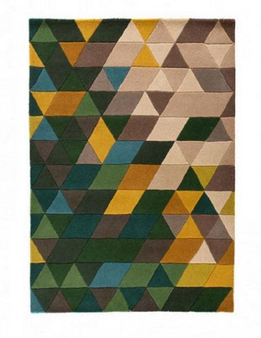 Tapis de salon design pure laine SHAPE