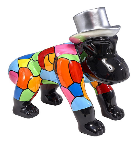 Sculpture moderne gorille CAPUCIN