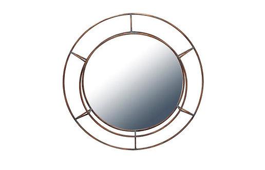 Miroir Rond Effet Hublot DEL ARTE