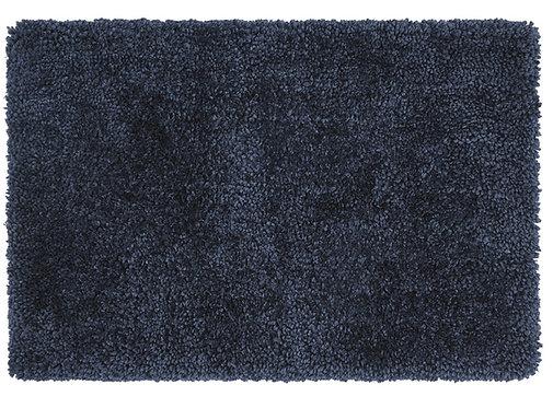 Tapis Salon Moderne HELIS Bleu Marine