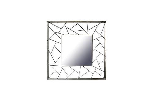 Miroir Design Triangles 90 cm - Collection DEL ARTE