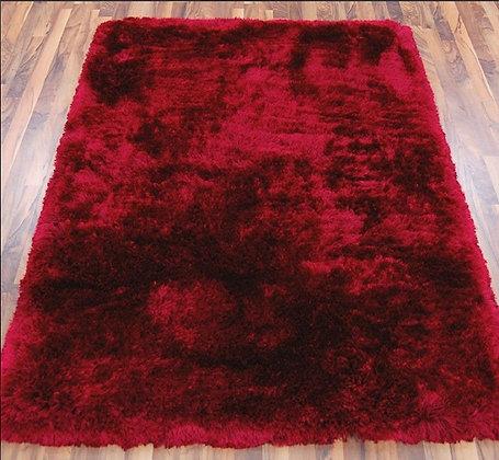 Tapis salon confort extrême SPLASH Rouge