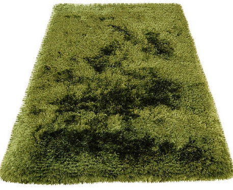 Tapis salon confort extrême SPLASH Vert
