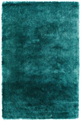 Tapis de Salon doux et coloré GOSSIP Turquoise
