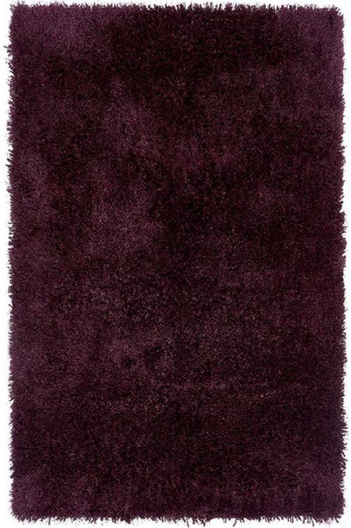 Tapis de salon Moderne poils longs DONNA Violet