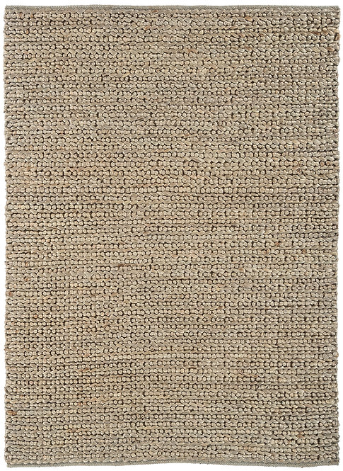 Tapis de Salon Jute WICKER Taupe