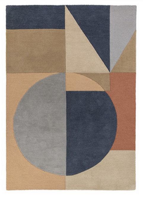 Tapis de salon moderne pure laine ARCHO