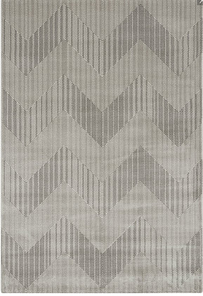 Tapis de salon Design polyester SOLAR Gris 009