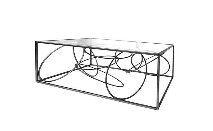 Table basse Design Cerceaux - Collection FER DESIGN