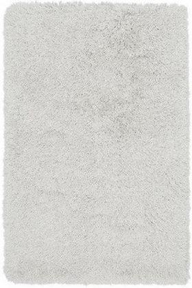 Tapis de salon poils longs FLOOD Blanc