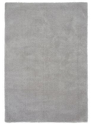 Tapis de Salon Design Polyester Uni TITO Argent