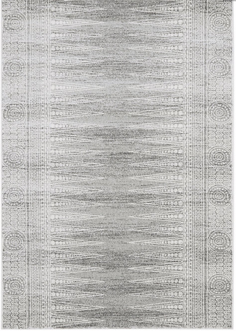 Tapis de salon design AVON Gris NV07