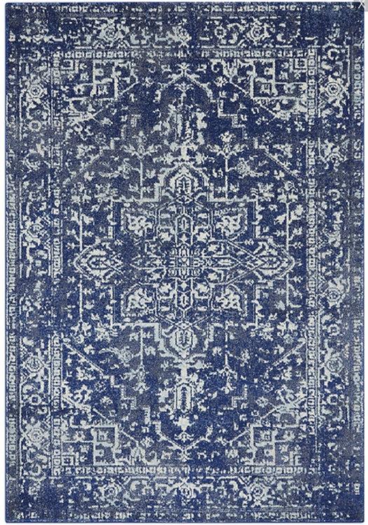 Tapis de salon design AVON Bleu NV11