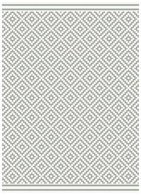 Tapis Intérieur Extérieur LOBBY Diamond Grey