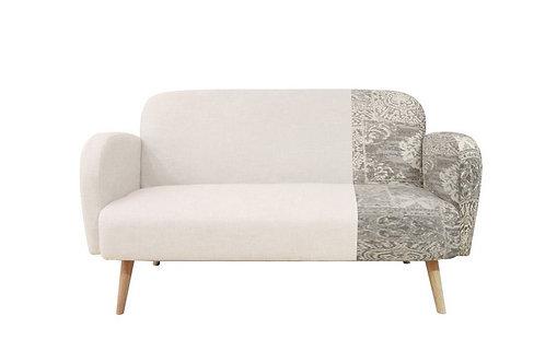 Sofa Canapé Bicolore 3 places SOPRANO