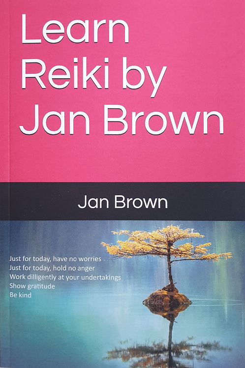 Learn Reiki £7.99 paperback £5.99 Kindle from Amazon