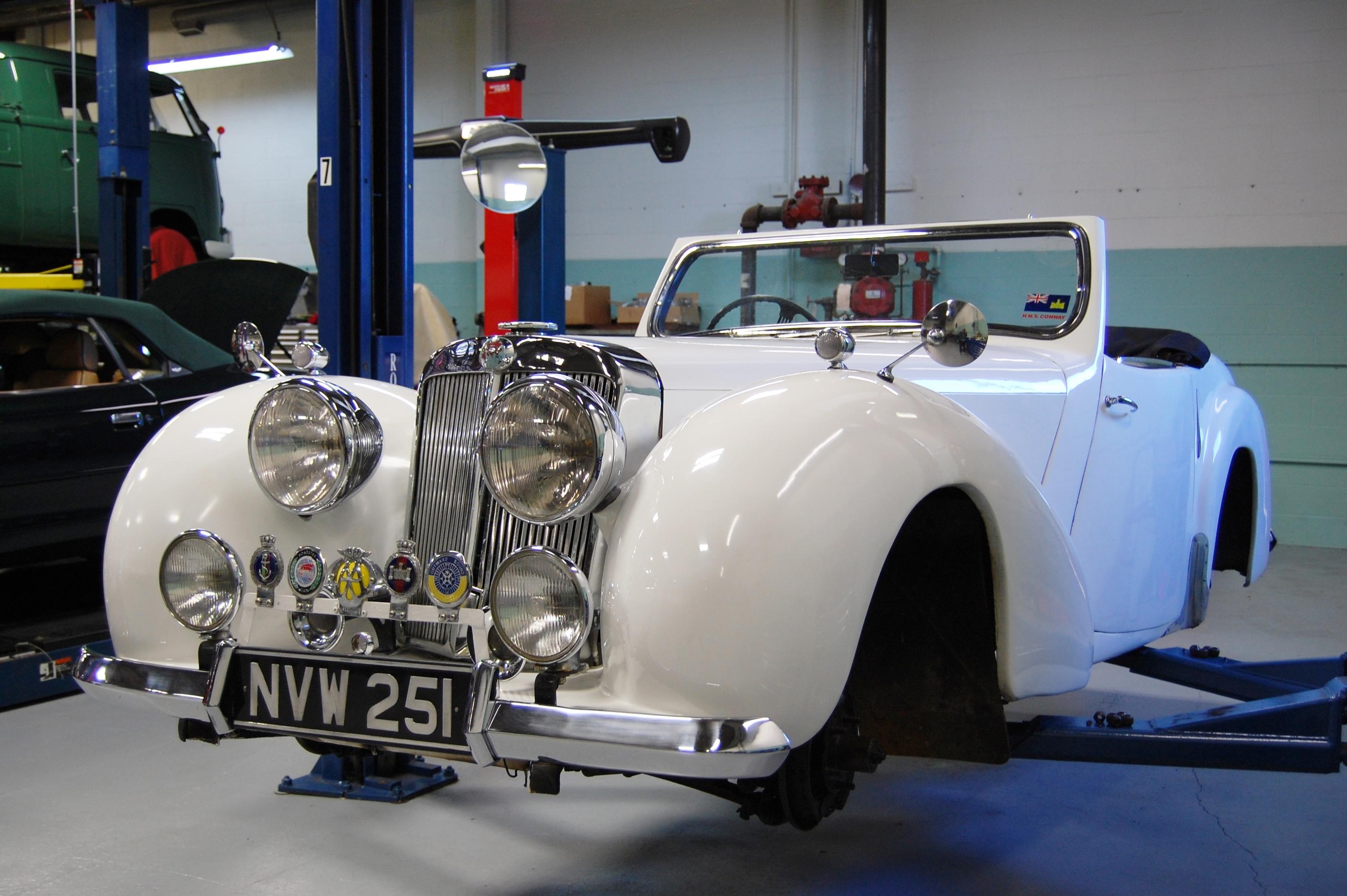 48 Triumph Roadster
