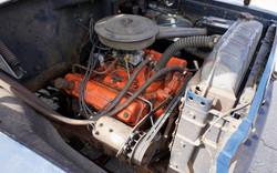 1959 Dodge 400 Dump Truck - Engine