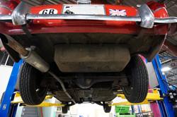 1962 MG Midget Underside (5)