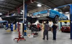 1967 Chevy Chevelle Malibu, 1963 Ford Thunderbird, Don & Ivan