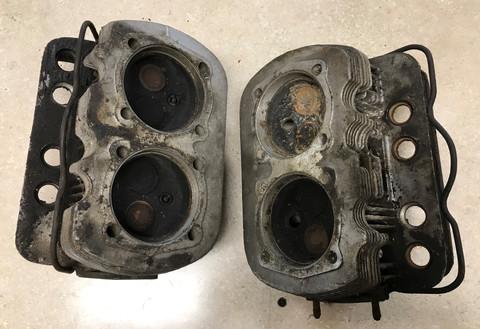 36 HP Cylinder Head w/ Valves & Spring Set