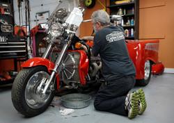 Boss Hoss Trike Motorcycle
