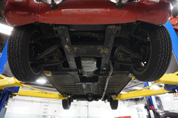 1962 MG Midget Underside (6)