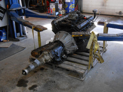 New engine for 61 Lincoln
