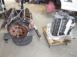 New engine for 02 GMC Savannah