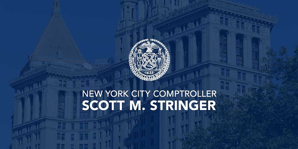 The NYC Comptroller is making an Announcement