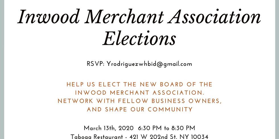 Inwood Merchant Association Elections