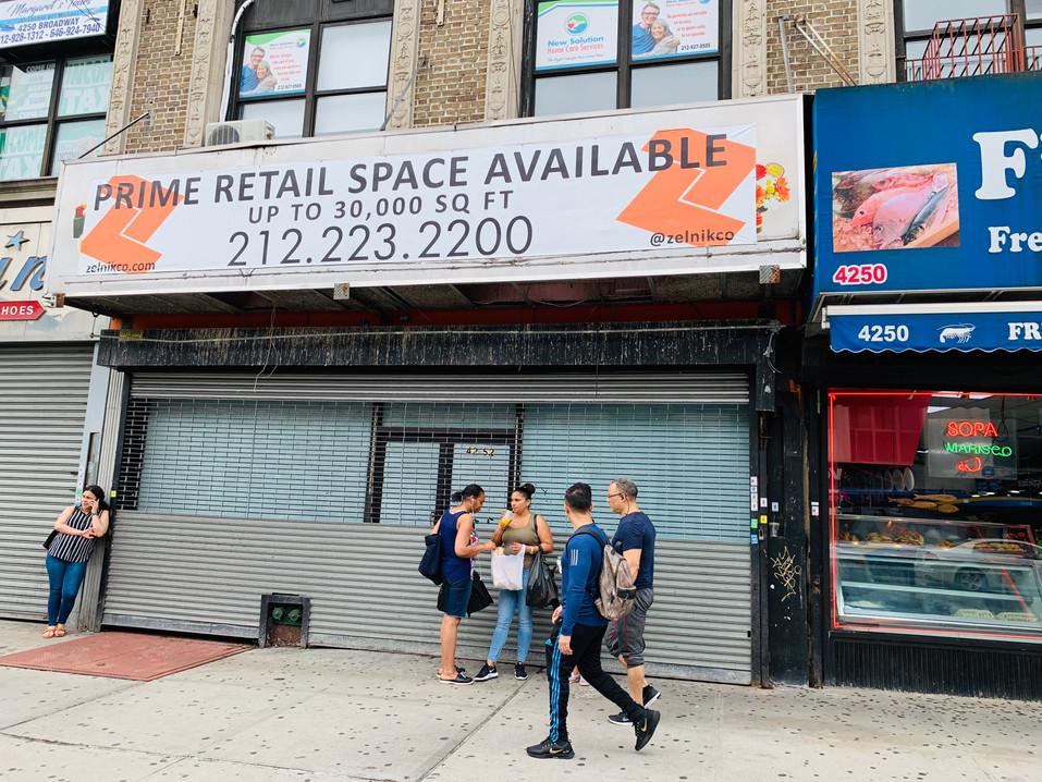 4252 Broadway New York, NY 10033 (212-22