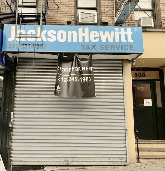 558 West 181st Street New York,NY 10033